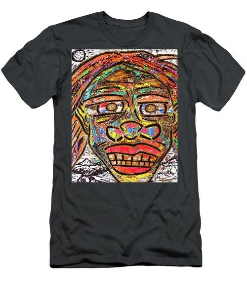 Winter Wonderland Man Men's T-Shirt (Athletic Fit)