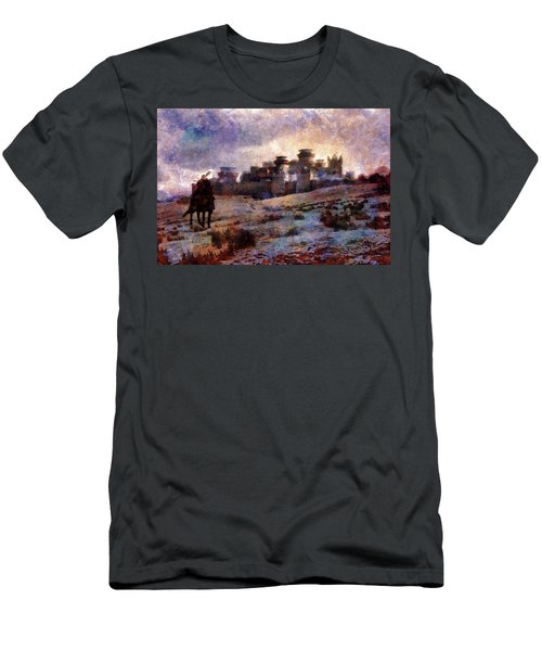 Winterfell Men's T-Shirt (Slim Fit) by Lilia D
