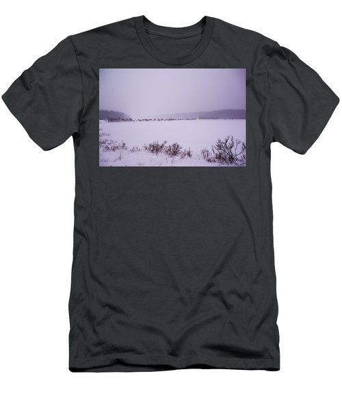Winter's Desolation Men's T-Shirt (Athletic Fit)
