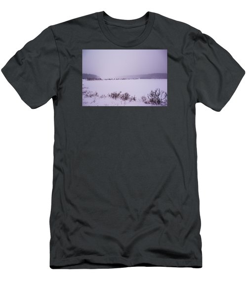 Winter's Desolation Men's T-Shirt (Athletic Fit)