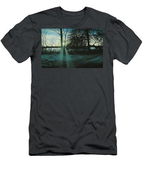 Winter's Evening Scout Men's T-Shirt (Athletic Fit)