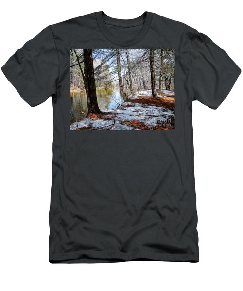 Winter's Remains Men's T-Shirt (Slim Fit) by Betsy Zimmerli