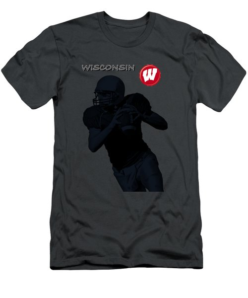 Wisconsin Football Men's T-Shirt (Slim Fit)