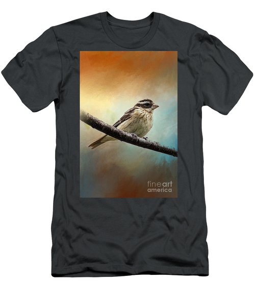 Wisconsin Songbird Men's T-Shirt (Athletic Fit)