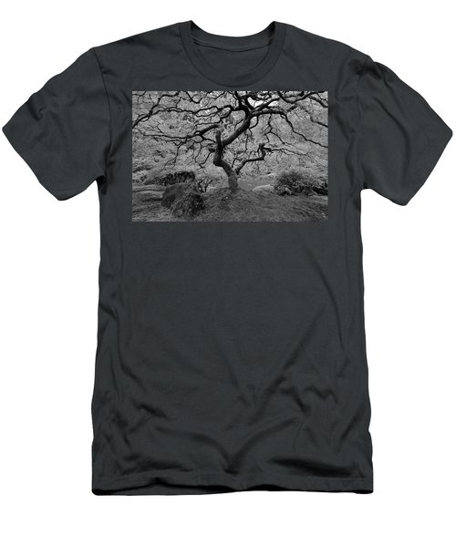 Wisdom Bw Men's T-Shirt (Slim Fit) by Jonathan Davison