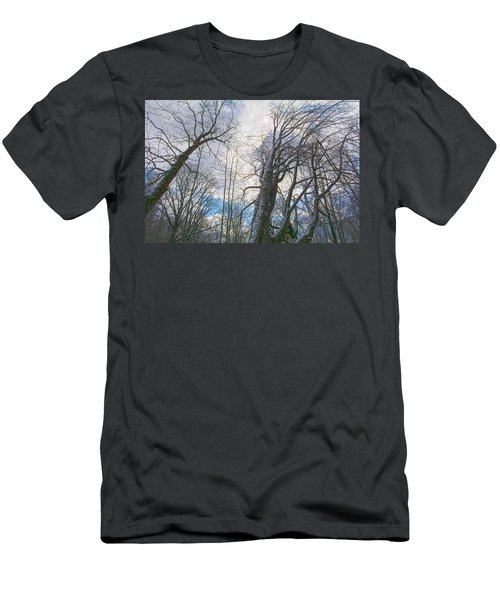 Wisdom Of The Trees Men's T-Shirt (Slim Fit) by Angelo Marcialis