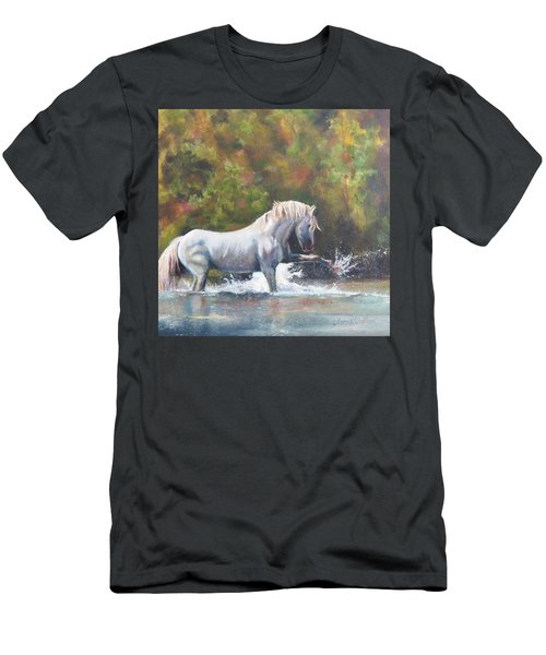 Wisdom Of The Wild Men's T-Shirt (Athletic Fit)