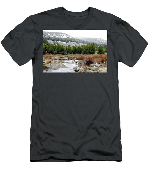 Wise River Montana Men's T-Shirt (Athletic Fit)