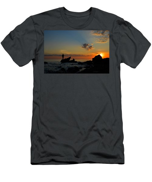 Wishing On A Star Men's T-Shirt (Athletic Fit)