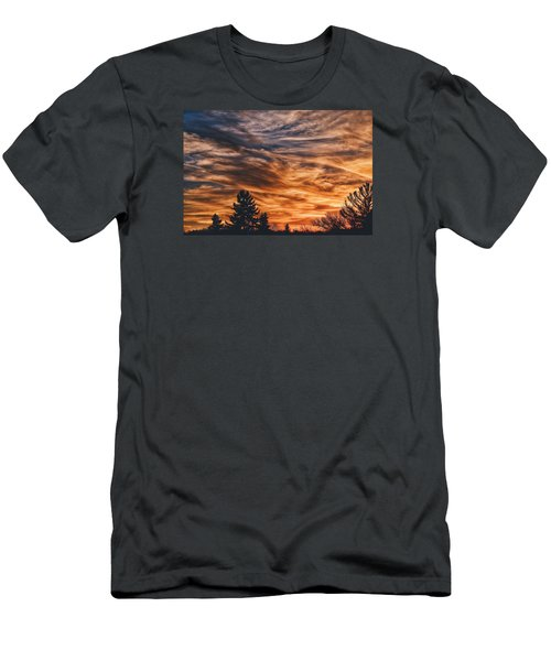 Men's T-Shirt (Slim Fit) featuring the photograph Wisp by Nikki McInnes