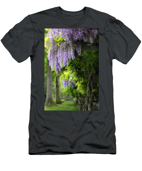 Wisteria Woodland Men's T-Shirt (Athletic Fit)