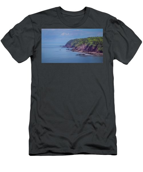 Wistful Songs Of The Ocean Men's T-Shirt (Athletic Fit)