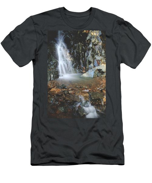 Men's T-Shirt (Slim Fit) featuring the photograph With Heart And Soul by Laurie Search