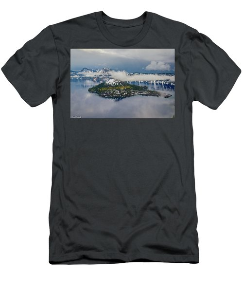 Wizard Island Men's T-Shirt (Athletic Fit)