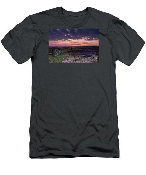 Wolds Sunset 2 Men's T-Shirt (Athletic Fit)