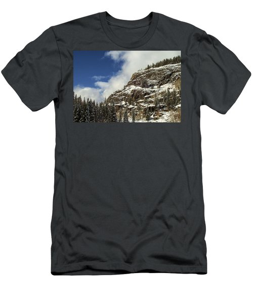 Wolf Creek Pass In Winter Men's T-Shirt (Athletic Fit)