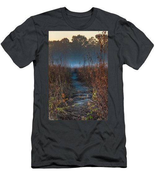 Wolf Road Prairie Trail Men's T-Shirt (Athletic Fit)