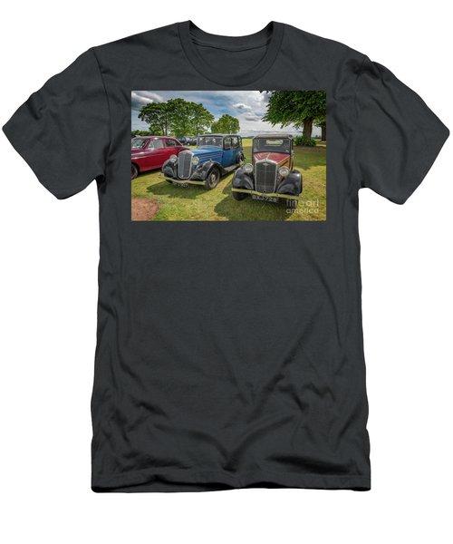 Men's T-Shirt (Slim Fit) featuring the photograph Wolseley Motors by Adrian Evans