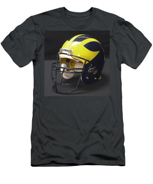 Wolverine Helmet From The 1990s Men's T-Shirt (Athletic Fit)