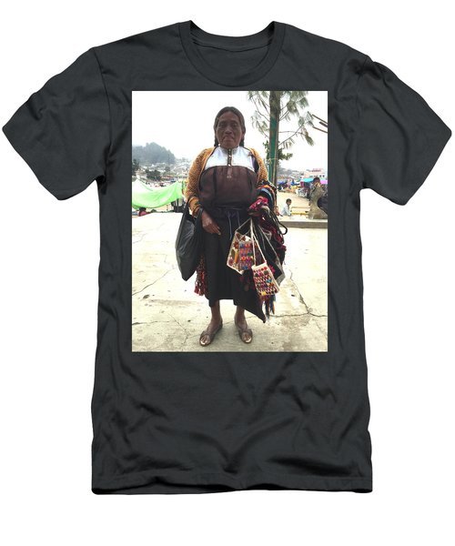 Woman In Chiapas. Men's T-Shirt (Athletic Fit)