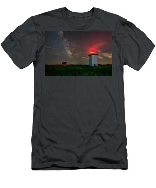 Wood End Nights Men's T-Shirt (Athletic Fit)