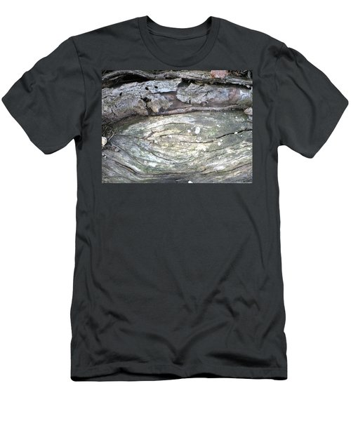 Wood Knot Men's T-Shirt (Slim Fit) by Michele Wilson