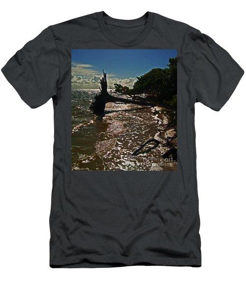 Wood Light Men's T-Shirt (Athletic Fit)