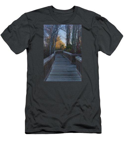 Wooden Path Men's T-Shirt (Athletic Fit)