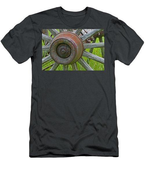 Wooden Spokes Men's T-Shirt (Athletic Fit)