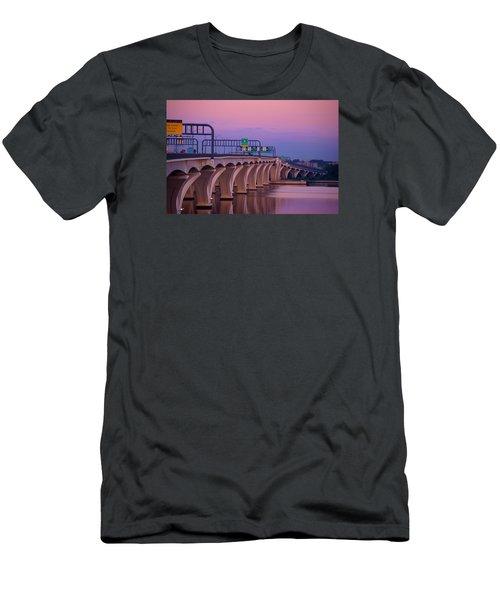 Woodrow Wilson Bridge Men's T-Shirt (Athletic Fit)