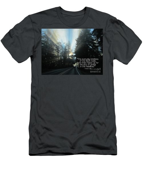 Men's T-Shirt (Athletic Fit) featuring the photograph World Kindness Day by Peggy Hughes