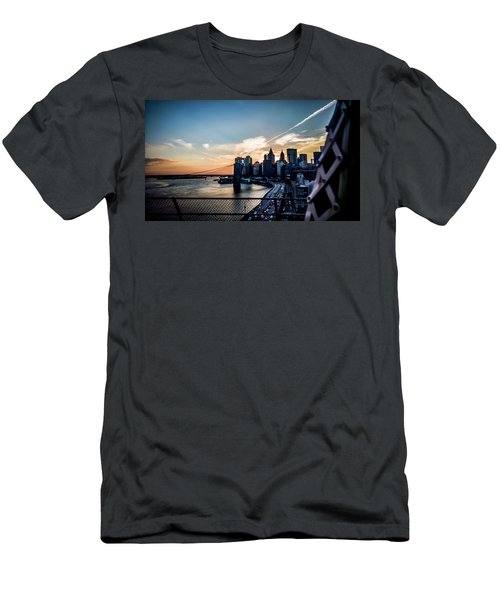 Men's T-Shirt (Athletic Fit) featuring the photograph Would You Believe by Johnny Lam