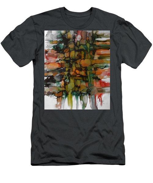 Woven Men's T-Shirt (Athletic Fit)