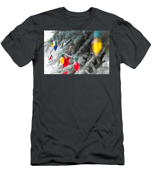 Wrap A Tree In Color Men's T-Shirt (Athletic Fit)