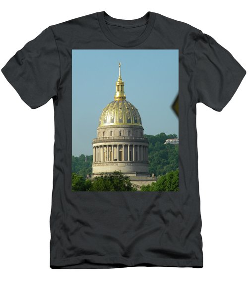 Wv State Capital Building  Men's T-Shirt (Athletic Fit)