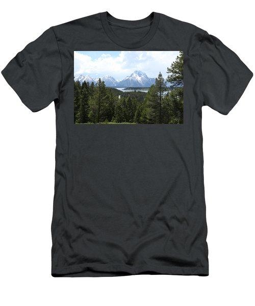 Wyoming 6490 Men's T-Shirt (Slim Fit) by Michael Fryd