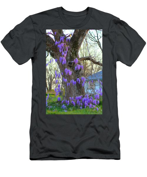 Wysteria Tree Men's T-Shirt (Athletic Fit)