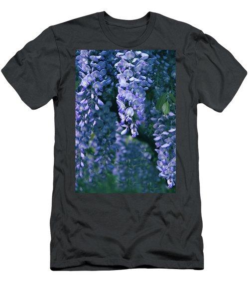 Twilight Wisteria  Men's T-Shirt (Athletic Fit)