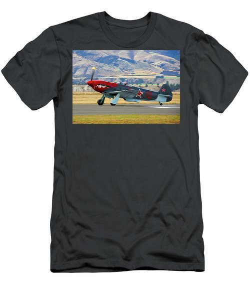 Yakovlev Yak 3-m Men's T-Shirt (Slim Fit) by Bernard Spragg