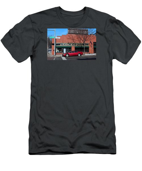 Men's T-Shirt (Slim Fit) featuring the photograph Ye Olde Cock N Bull by Michiale Schneider