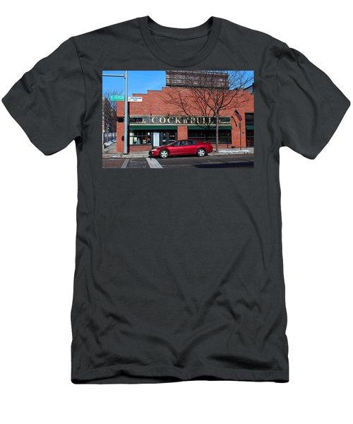 Ye Olde Cock N Bull Men's T-Shirt (Athletic Fit)