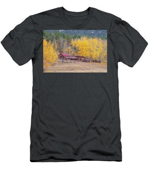 Yearning For The Tranquility Of A Rustic Milieu  Men's T-Shirt (Athletic Fit)