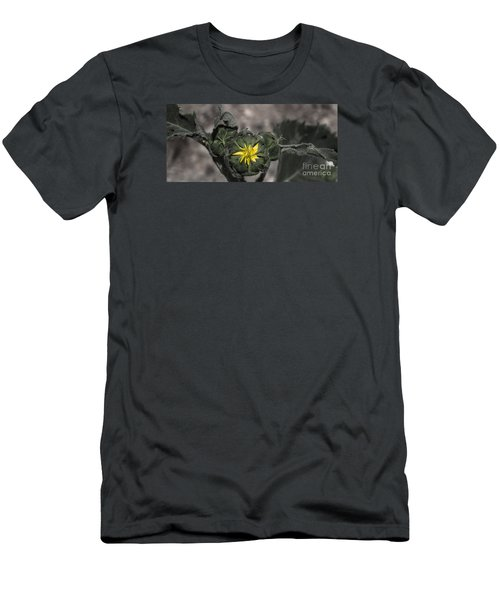 Yellow Flower 3 Men's T-Shirt (Athletic Fit)