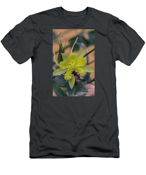 Yellow Flower 5 Men's T-Shirt (Athletic Fit)