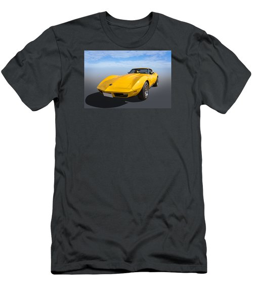 Men's T-Shirt (Slim Fit) featuring the photograph Yellow by Keith Hawley