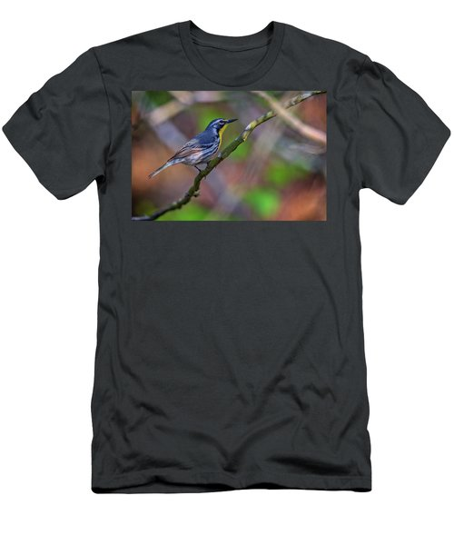 Yellow-throated Warbler Men's T-Shirt (Slim Fit)