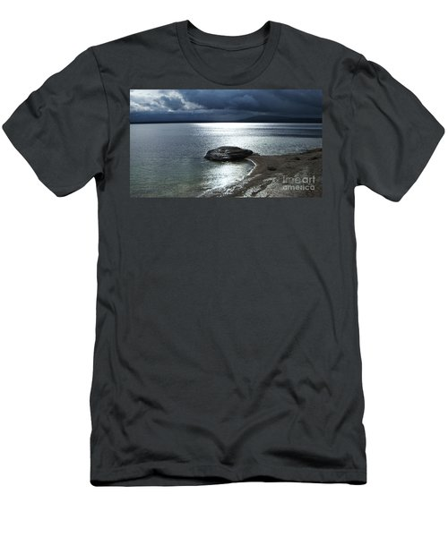Yellowstone National Park 1- Moonlight Men's T-Shirt (Athletic Fit)