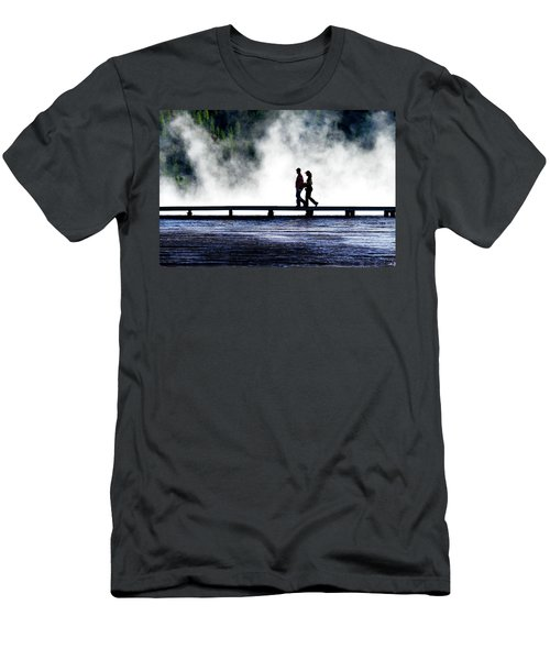 Yellowstone Walkers Men's T-Shirt (Athletic Fit)