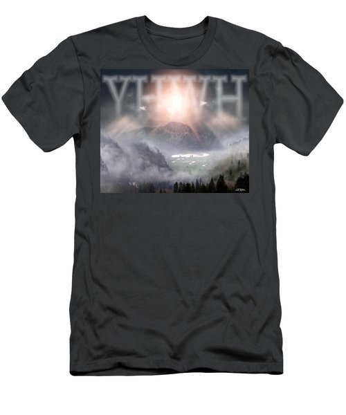 Yhwh Men's T-Shirt (Slim Fit) by Bill Stephens