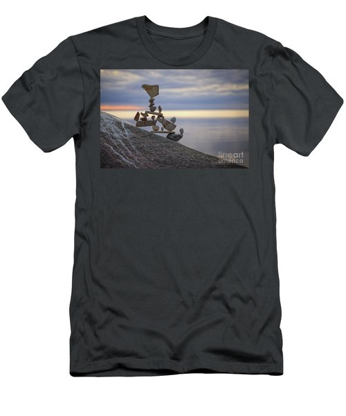 Yippie Kay Yay Men's T-Shirt (Athletic Fit)